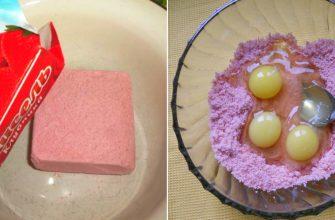 Вот что получается из обычного брикета киселя. Кулинарное открытие!