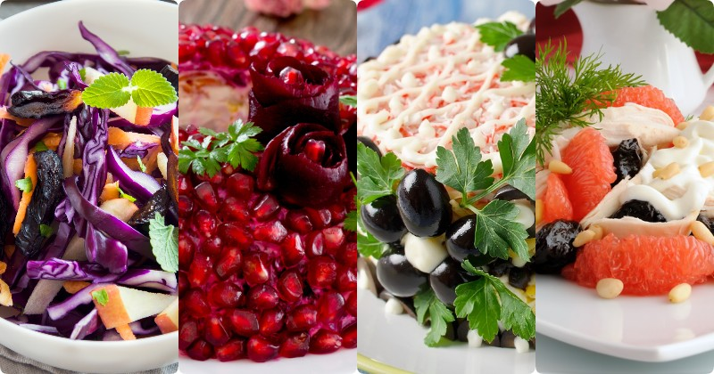 Для желудка и для кишечника: 12 вкусных салатов с черносливом. Восполнят нехватку витаминов