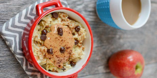 Завтрак в микроволновке за 5 минут: 11 вкусных идей. Если лень готовить, попробуйте это.