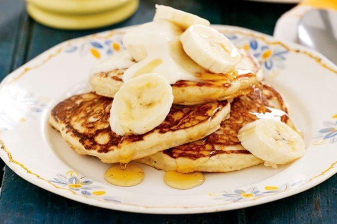 Банановые блины без муки: богаты калием и их легко приготовить