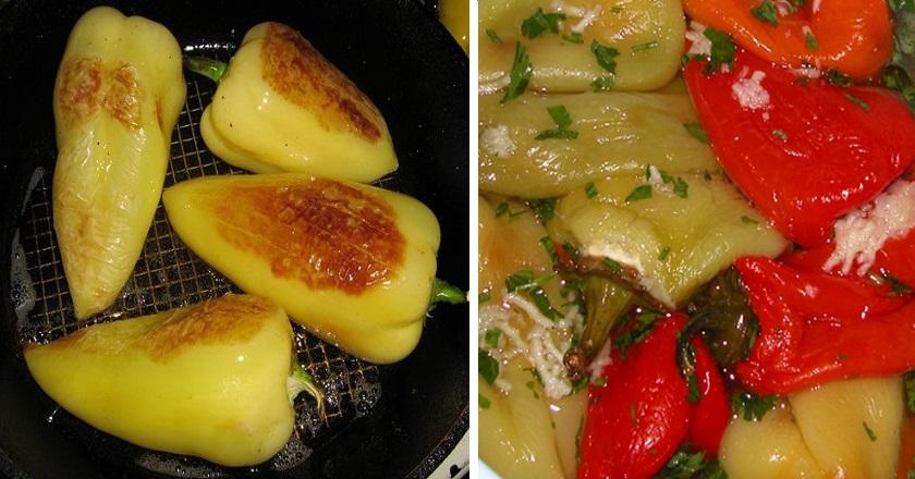 Сочный перец по-армянски. Ты влюбишься в это блюдо, попробовав всего однажды! Подойдет к любому мясу.
