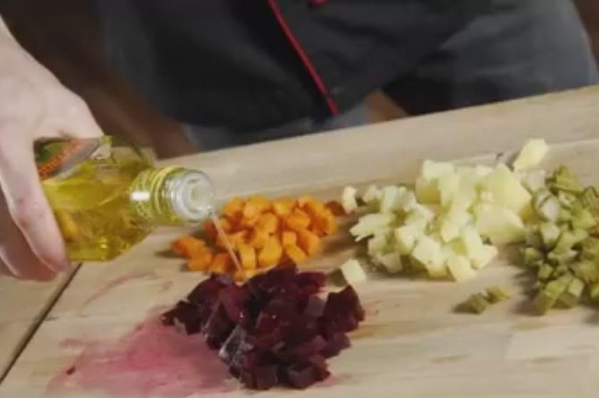 Винегрет: классический рецепт с горошком