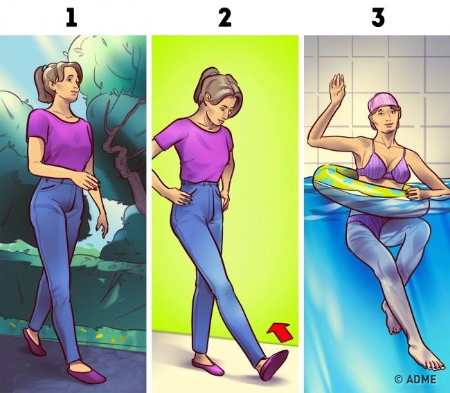3 минуты перед сном: простые упражнения, с которыми ваши ноги похудеют!