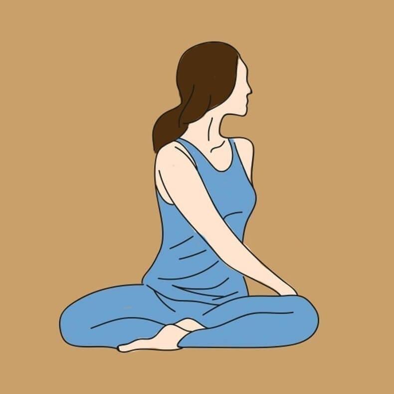 Делайте это упражнение всего 1 раз в 2 дня. Спина перестанет болеть сразу же.