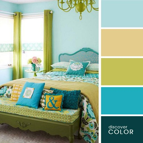 20 идеальных цветовых сочетаний для интерьера. И пусть все позавидуют твоему вкусу!
