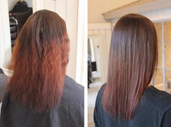 Девушка сделала выпрямление волос по цене в 3 раза дешевле, чем везде: через два дня прическа стала состоять из «пружинок». Спас шевелюру другой мастер