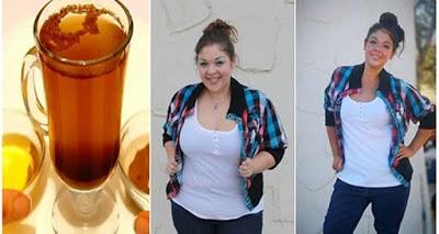 Она сбросила 7 кг за 10 дней с помощью этого напитка
