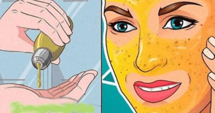Масло, которое стирает морщины и пятна на лице