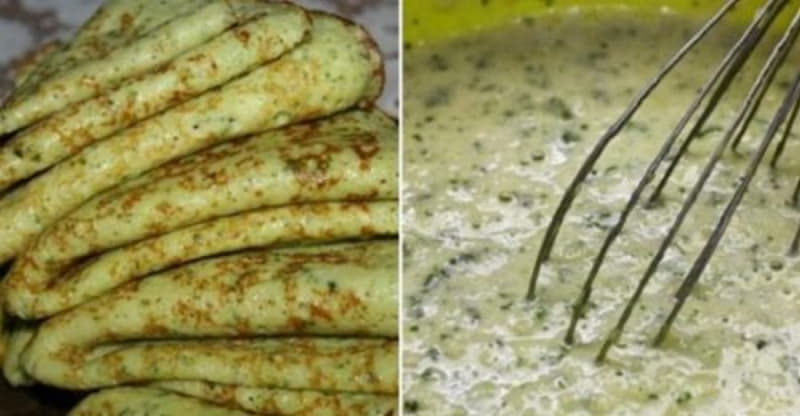 Кабачковые блины со сметаной. Тонкие, легкие, аппетитные, просто объедение!