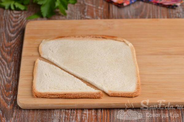 Тарталетки из тостового хлеба