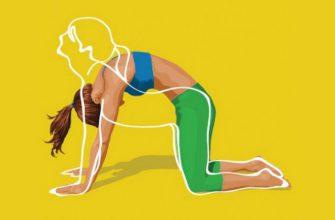 Упражнение от обвисшего живота, просто бомба, помогает на 100%