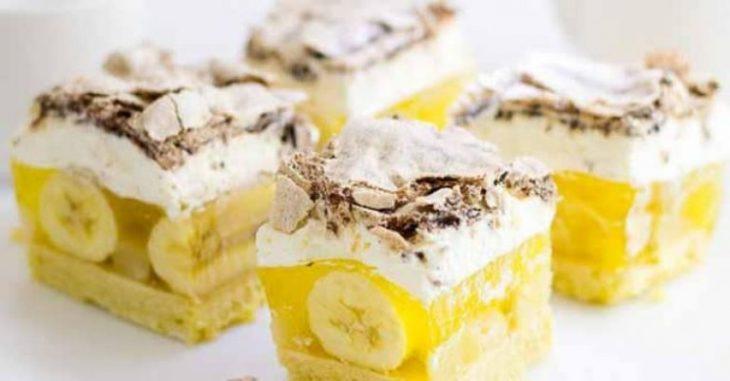 Это не десерт, а чудо! Я и дети просто в восторге! Торт «Банановое чудо».