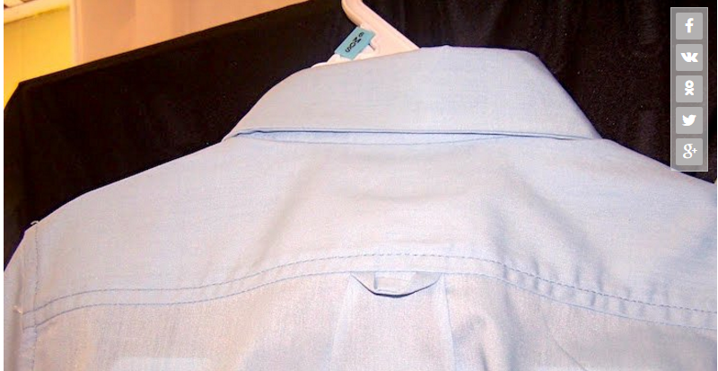Вот для чего на рубашках имеются эти петельки! А вы знали об этом?
