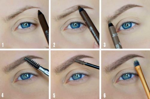 Учимся делать макияж бровей самостоятельно
