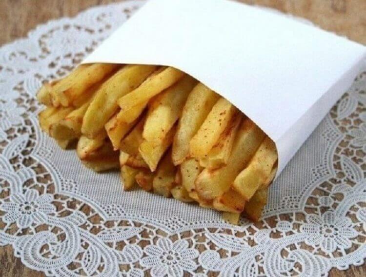Вот рецепт картошки фри без капли жира: детям можно хоть через день