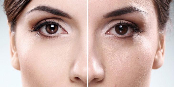 Маски для лица с эффектом «анти-жирного» блеска
