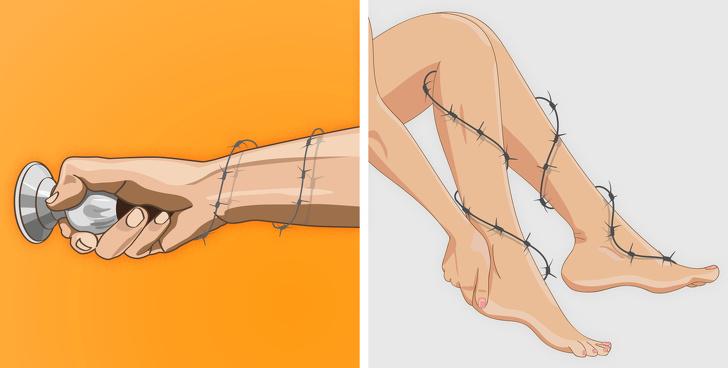 Дегенерация мышц начинается с 8 ранних симптомов. Не игнорируйте их