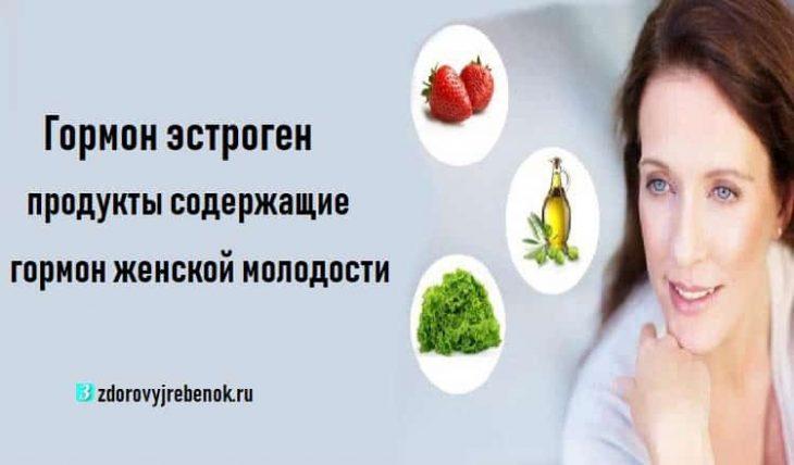 Гормон эстроген: продукты содержащие гормон женской молодости