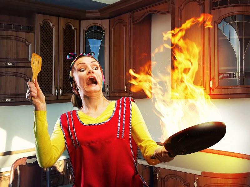 Что нельзя делать на кухне