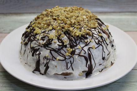 """Быстрый торт """"Панчо"""" без выпечки из 6 ингредиентов"""