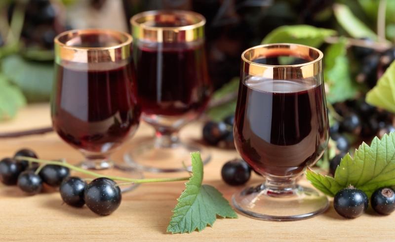 Домашнее вино из черной смородины куда лучше любых магазинных напитков!