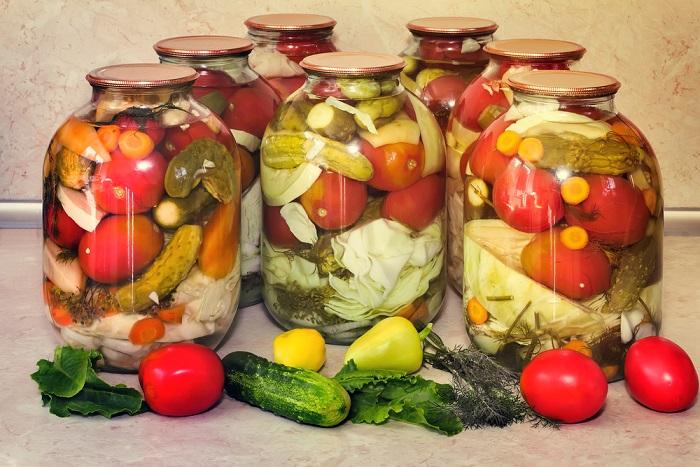 Проверенный годами рецепт консервации. Ассорти из овощей на зиму.
