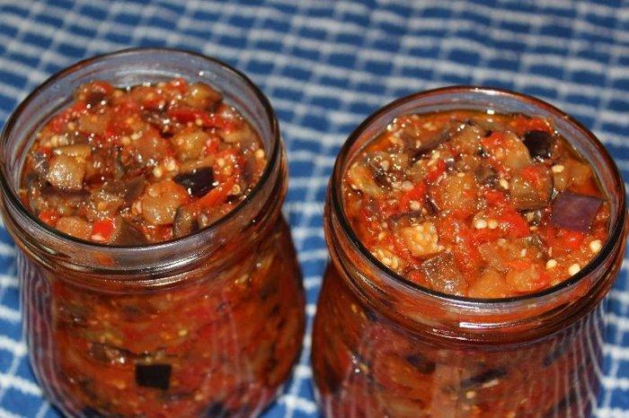 Очень вкусные, с невероятным ароматом баклажаны по-грузински