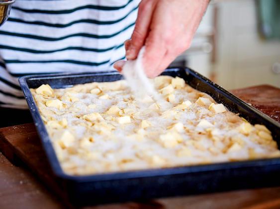 Масляный пирог – очень сочный рецепт