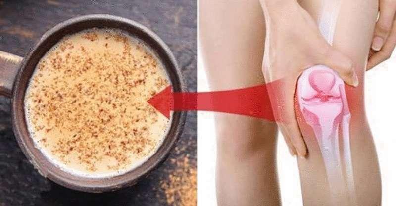 Замечательный натуральный напиток для укрепления коленей и восстановления хрящей и связок