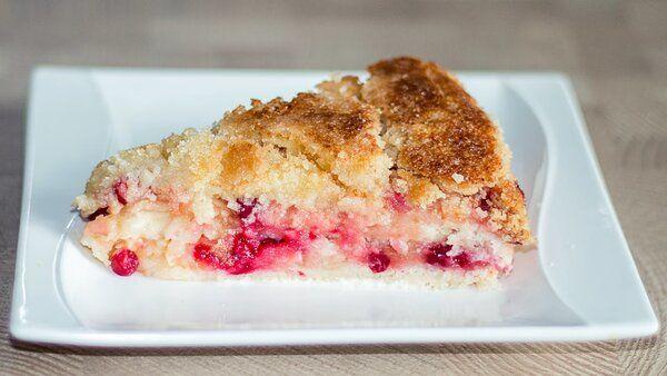 """Яблочный насыпной пирог """"Три стакана"""" – очень простой рецепт"""