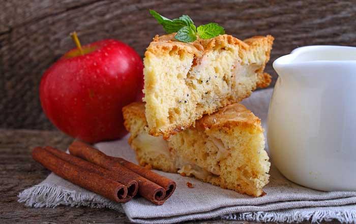 Топ-6 ПП рецептов шарлотки с яблоками