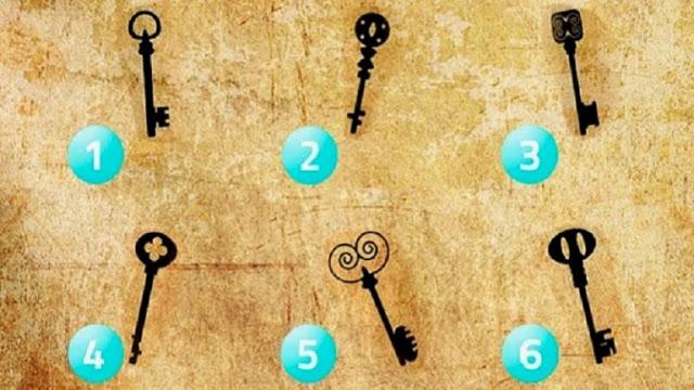 ТЕСТ: Какой ключ Вы выбрали бы, чтобы открыть старый сундук?